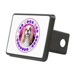 Sit Stay Wag Cavalier Styl Rectangular Hitch Cover