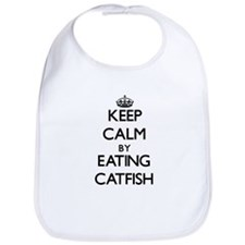 Keep calm by eating Catfish Bib