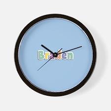Braden Spring14 Wall Clock