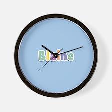 Blaine Spring14 Wall Clock