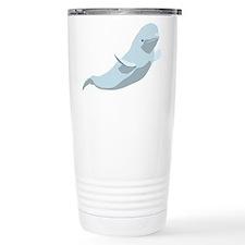 Unique Beluga Travel Mug