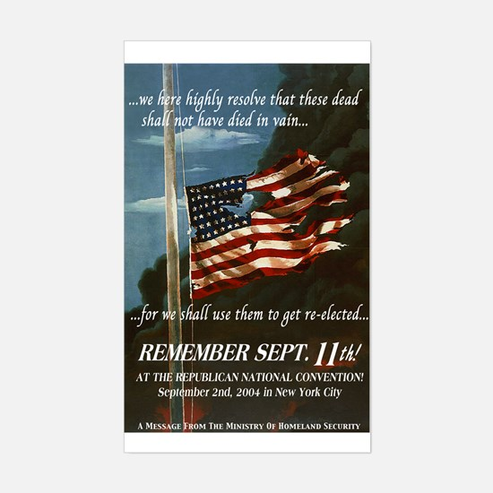 Remember Sept. 11th Decal