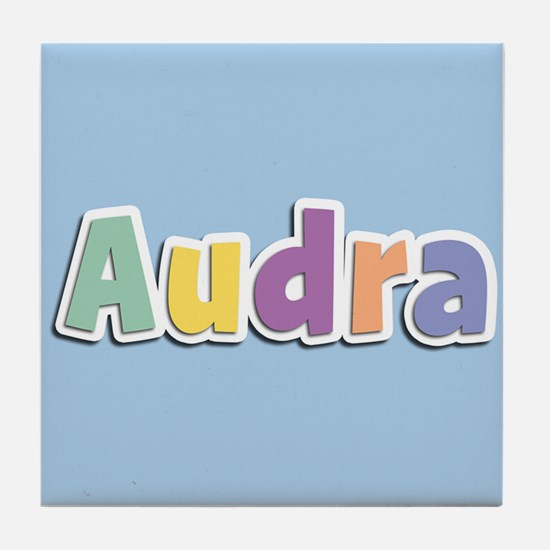 Audra Spring14 Tile Coaster