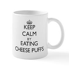 Keep calm by eating Cheese Puffs Mugs