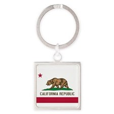 STATE FLAG : california Keychains