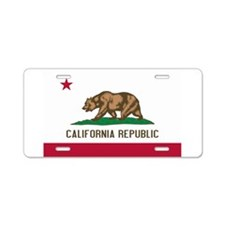 STATE FLAG : california Aluminum License Plate