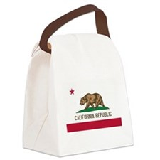 STATE FLAG : california Canvas Lunch Bag