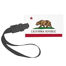 STATE FLAG : california Luggage Tag