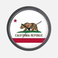 STATE FLAG : california Wall Clock
