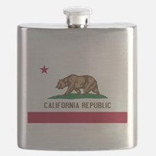 STATE FLAG : california Flask
