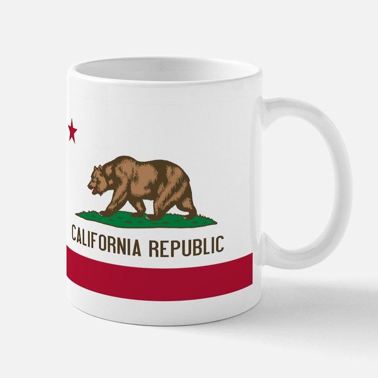 STATE FLAG : california Mugs