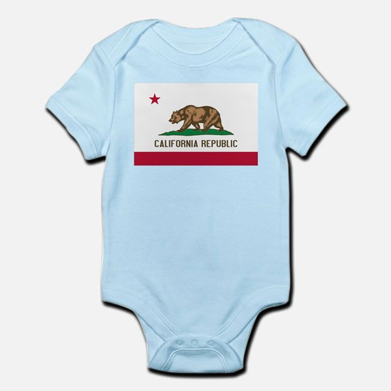 STATE FLAG : california Body Suit