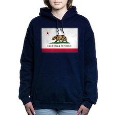 STATE FLAG : california Women's Hooded Sweatshirt