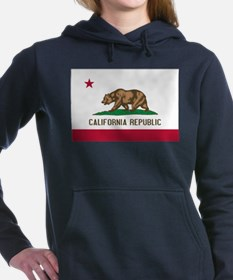 STATE FLAG : california Women's Hooded Sweatshirt