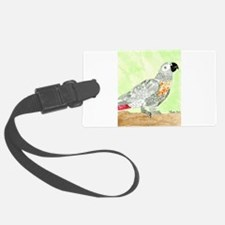Daily Doodle 3 African Gray Cisco Luggage Tag
