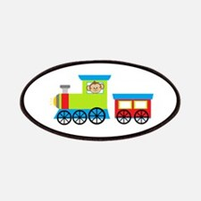 Monkey Driving a Train Patches