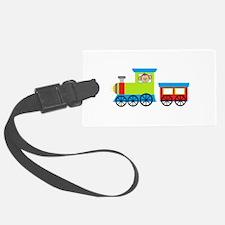 Monkey Driving a Train Luggage Tag