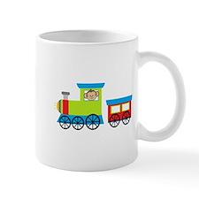 Monkey Driving a Train Mugs