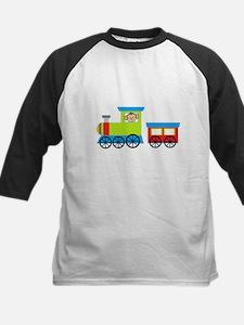Monkey Driving a Train Baseball Jersey