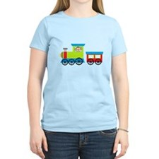 Monkey Driving a Train T-Shirt