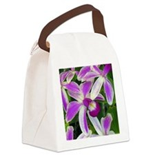 Hawaiian Orchids Canvas Lunch Bag