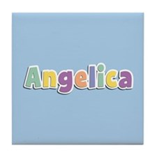 Angelica Spring14 Tile Coaster
