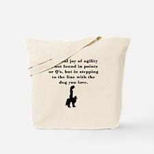 The Joy of Agility Tote Bag