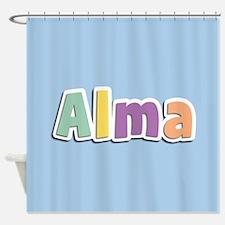 Alma Spring14 Shower Curtain