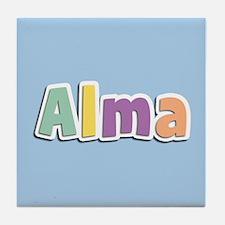 Alma Spring14 Tile Coaster