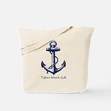Tybee Island, Ga Anchor Tote Bag