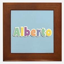Alberto Spring14 Framed Tile