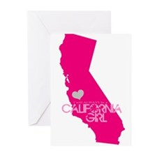 ALWAYS a California Girl Greeting Cards
