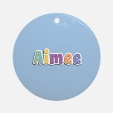 Aimee Spring14 Ornament (Round)