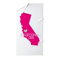 ALWAYS a California Girl Beach Towel