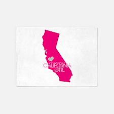 ALWAYS a California Girl 5'x7'Area Rug