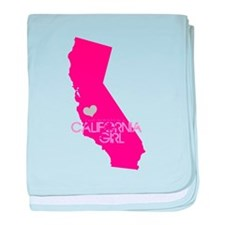 ALWAYS a California Girl baby blanket