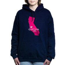 ALWAYS a California Girl Women's Hooded Sweatshirt