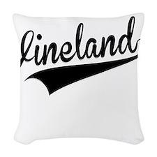 Vineland, Retro, Woven Throw Pillow