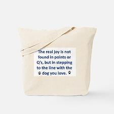 The Real Joy... Tote Bag