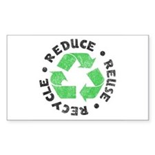 Recycle! Rectangle Decal