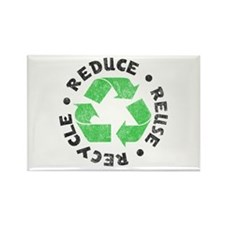Recycle! Rectangle Magnet (10 pack)