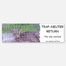 Trap-Neuter-Return Bumper Bumper Bumper Sticker