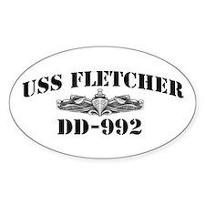 USS FLETCHER Decal