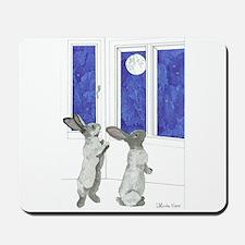 Daily Doodle 4 Rabbit Moon Mousepad