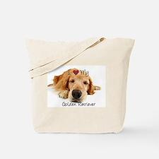 Cute Golden Tote Bag