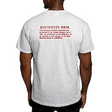Restricted Data Logo & Stamp, Men's T-Shirt