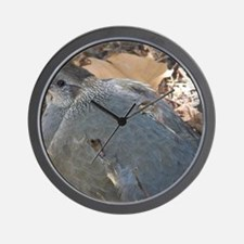 Mommy and Baby Quail Wall Clock