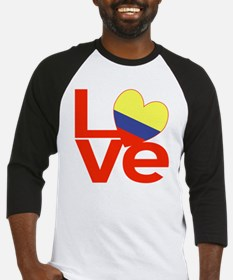 Red Colombia LOVE Baseball Jersey