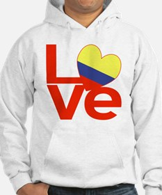 Red Colombia LOVE Hoodie
