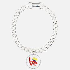 Red Colombia LOVE Bracelet